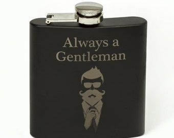 Whiskey Flask 6 oz Stainless Steel