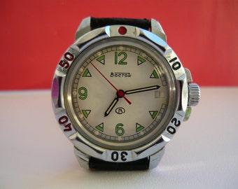 Soviet watch Vostok Komandirskie / Vintage wrist watch / men's Watch Vostok / Mechanical watch / USSR / Soviet Union / komandirskie / Wostok