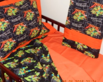 Toddler Bedding - Teenaged Mutant Ninja Turtles