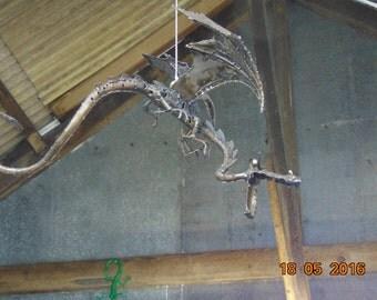 Metal sculpture Dragon