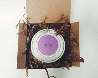 8 oz Fig Tree Soy Candle