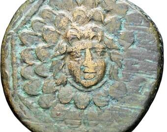 Ancient Greek 85-65 BC Mithradates VI Æ Pontos, Amisos