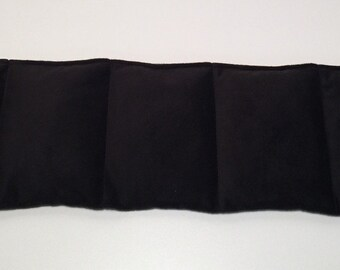 Heat Pack or Cold Therapy Wrap/ Neck Shoulder Unscented-Black Gold Arrow