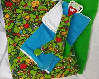 ON SALE TMNT Blanket gift set