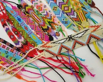 wholesale bracelets colorful glass bead 40 Pcs.