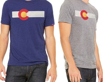 Men's ReIssue Colorado Flag T