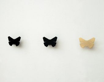 Butterfly Jewellery Organizer , Wall Hooks, Origami Wall Decor, Modern Hook, Jewelry Hanger