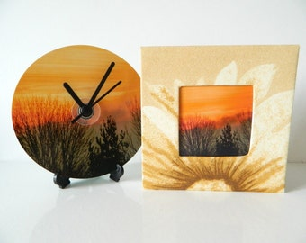 CD Clock & Card