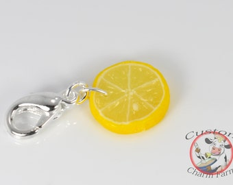 Lemon Slice Charm