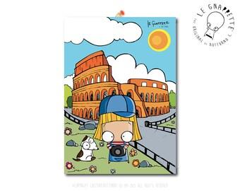 Colosseo Rome Garcia