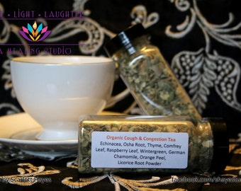 Organic Cough and Congestion Tea
