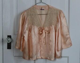 Antique bed jacket