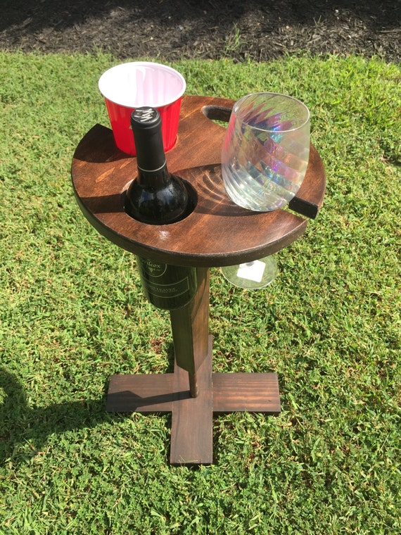 Wine Table Folding Wine Table Gift For Wine Lovers Wooden