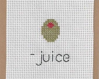 CARD - Olive Juice (I Love You)