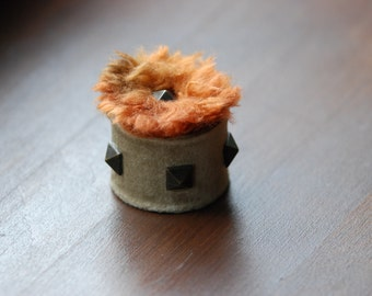 "Tiny jewelry box ""Furry"""