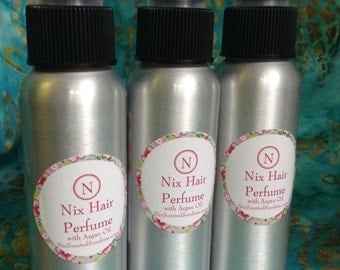 Hair Perfume/Shine Spray with Coconut Oil ~ U Pick Scent or Unscented Shine Spray