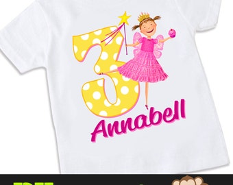 Pinkalicious Inspired birthday Tshirt Shirt