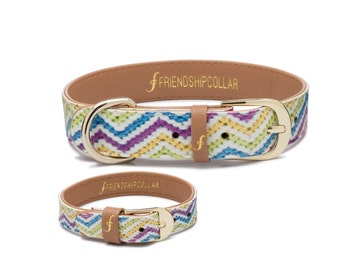 The Top Dog - Dog FriendshipCollar and matching friendship bracelet