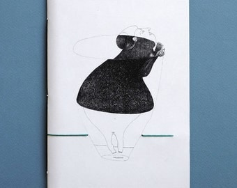 Handmade Artistic Notebook signed by frenopersciacalli