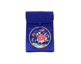 Small Silk Purse, Blue