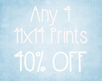 11x14 Prints - Choose any 4 ColorPopPhotoShop Fine Art Photographs
