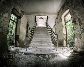 At the old military hospital