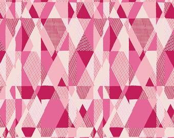 Essentials II by Pat Bravo for Art Gallery Fabrics - Intertwill Blush - Cotton Woven Fabric