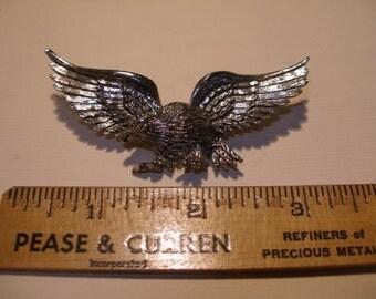 Pewter Eagle Figural(447)