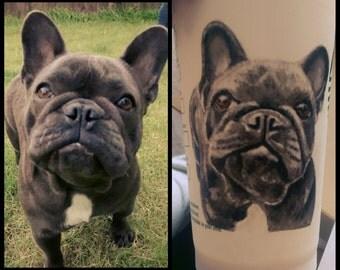 One Pet Portrait Resuable Starbucks Cup