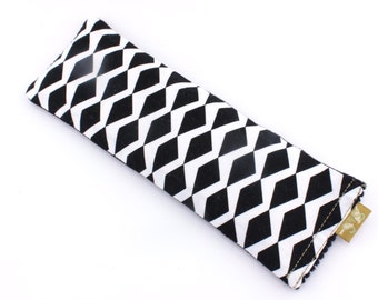 DIAMOND CRUSH Linseed/Flaxseed Eye Pillow Scented_100% Cotton_Gift Box_Yoga