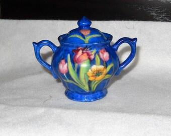 Porcelain cup with lid (Vintage)