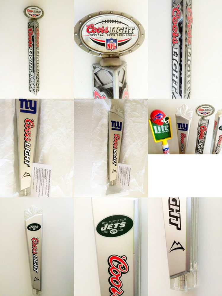 Coors Tap Handles Football Miller Beer Taps Miami By