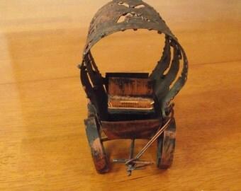 Vintage Copper Stagecoach
