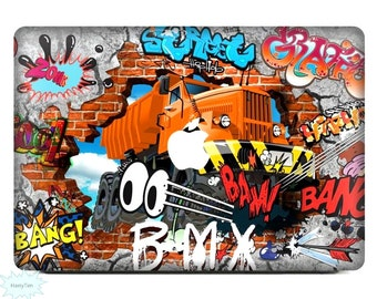 New Graffiti Decal Mac Stickers Macbook Decals Macbook Stickers Apple Decal Mac Decal Stickers Laptop Decal 10