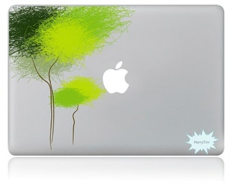 New tree decals mac stickers Macbook decal macbook stickers apple decal mac decal stickers 11
