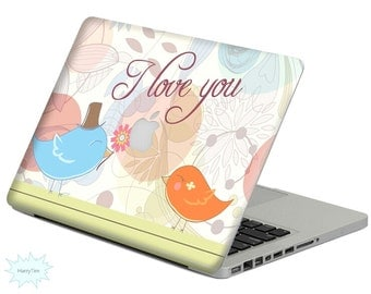 New love decal mac stickers Macbook decal macbook stickers apple decal mac decal stickers