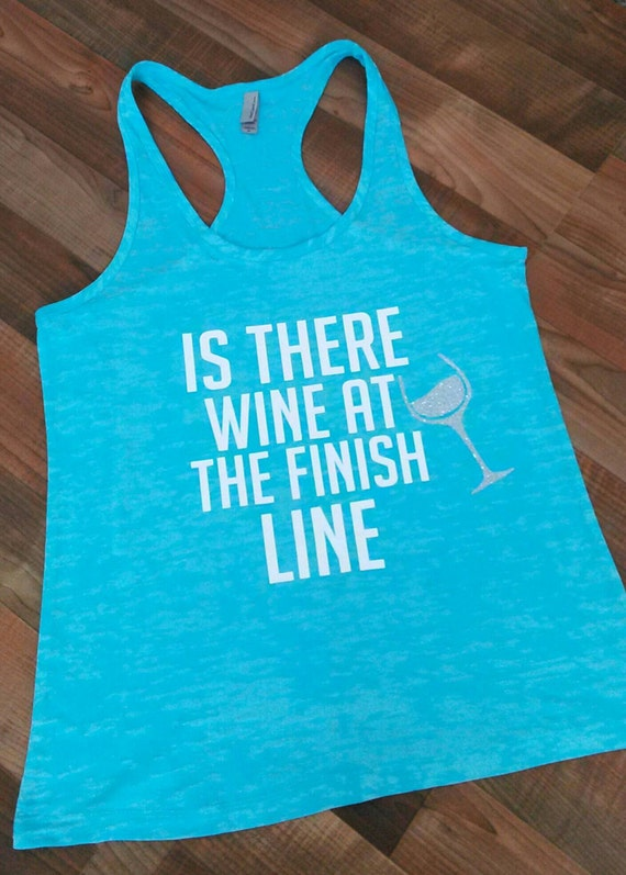 Runners Tank.WGym tank top. Workout tank top. Gym tank. Gym shirts. Workout tanks. Marathon shirt. Workout Clothes. Wine Tank top.Racer back