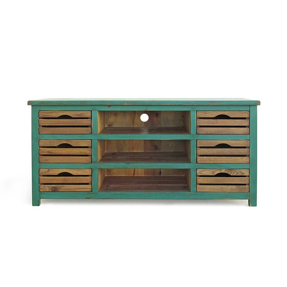 Media Console Tv Stand Reclaimed Wood Console Table