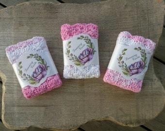 Baby Wash Cloth, Baby Girl Gift, Baby Gift, Cotton Wash Cloth, Cleaning Cloth, Baby Shower Gift, Baby Girl, Gift For Baby, Wash Cloth