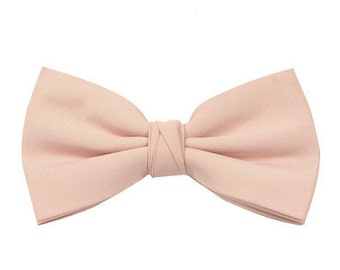Champagne Men's Wedding/Prom Bow Tie by Matchimony available in 37 colours