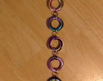 Rainbow Mobius Loop Bracelet