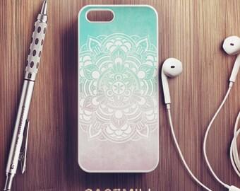 Turquoise Mandala iPhone 6 Case iPhone 6s Case iPhone 6 Plus Case iPhone 6s Plus Case iPhone 5s Case iPhone 5 Case iPhone 5c Case