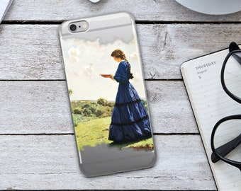 Belle iPhone Case - Belle Reading iPhone Case - Vintage iPhone Case - Vintage Case - Beauty and the Beast iPhone Case - Beauty and the Beast