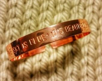 Dear Prudence bracelet