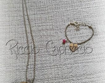 Mother Daughter Necklace Bracelet special bond