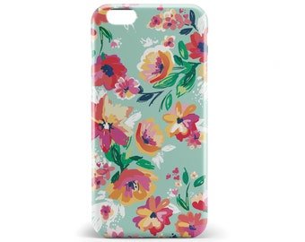 1396 // Pink Flowers Phone Case iPhone 5/5S, 6/6S, 6+/6S+ Samsung Galaxy S5, S6, S6 Edge Plus, S7
