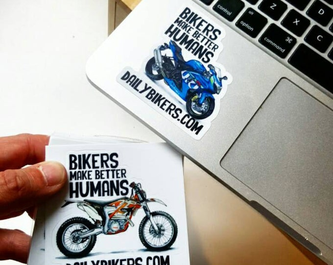 Motorcycle Stickers - Suzuki GSXR-1000 drawing printed on high quality vinyl stickers!