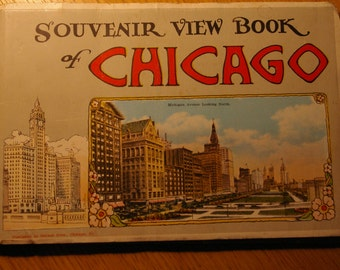 Chicargo Souvenir book 1920's