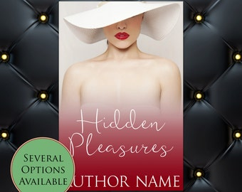 Hidden Pleasures Pre-Made eBook Cover * Kindle * Ereader Cover