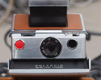 Polaroid Land SX 70 Alpha 1 Instant Film Camera